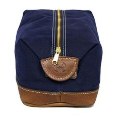 For your Preppy Pal: De Gaulle Dopp by Blue Claw Co.