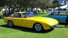 Foto Mobil Lamborghini Islero S Yellow Side View