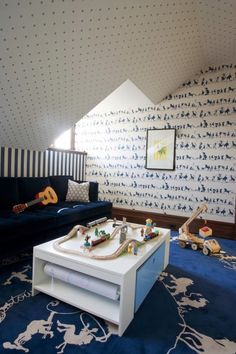 Straight walls and ceilings are so last season! Attics make sneaky getaway spaces for kids of all ages. From offices to playrooms, bunk rooms to master baths, everything is more fun in an attic! Tracy Hardenburg Herlong and Associates Cardea Building Tim Barber  decorpad Lynn Scalo Bella Mancini House and Home Kristi …