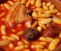 fabada, stew, chorizo, black pudding, beans