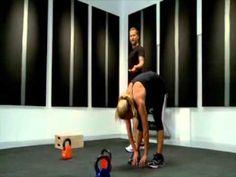 Bob Harper Basic Kettlebell Workout Part 2 Kettlebell Clean, Kettlebell Training, Weight Training Workouts, Kettlebell Routines, Fitness Diet, Fitness Goals, Fitness Motivation, Health Fitness, Fit Board Workouts