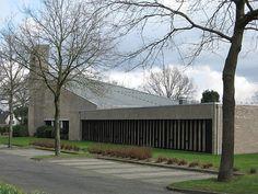David Zuiderhoek, Goede Herder kerk, Huizen 1966-1968