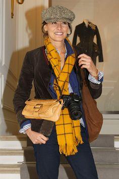 Ines de la Fressange at Dior.