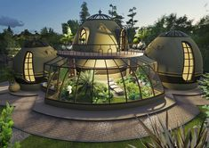 Green Architecture, Organic Architecture, Concept Architecture, Architectural Engineering, Architectural Sculpture, Bamboo House Design, Earth Bag Homes, Bamboo Construction, Adobe House