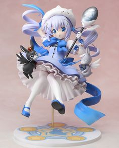 Is+the+Order+a+Rabbit+statuette+1/7+Magical+Girl+Chino+Stronger