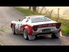 ▶ Lancia Stratos HF Group 4 - Ferrari V6 Engine Sound - YouTube