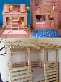 17 Fabulous DIY Pallet Projects For Kids: