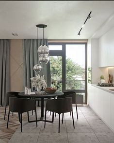 Ways Make Modern Dinning Room Interior Styles - Ideaz Home Luxury Dining Room, Dining Room Design, Dining Room Furniture, Rooms Ideas, Modern Room, Room Interior, Interior Modern, Interiores Design, Room Decor