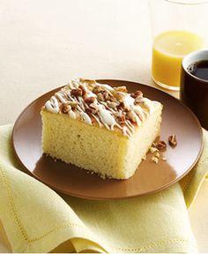 Gluten Free Eggnog Breakfast Cake http://wm13.walmart.com/Cook/Recipes/22503