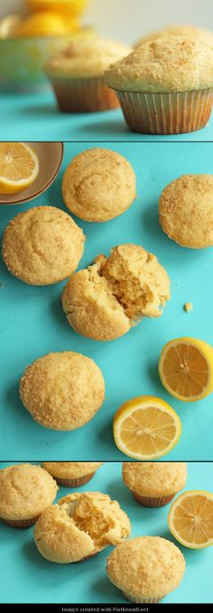 #Lemon Crumble #Muffins- sunny and moist muffins to start breakfast right! -