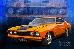 1974 XB Ford falcon GT Coupe (Australia)