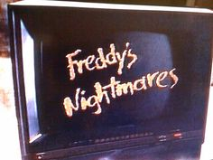 Freddy's Nightmares!!! He'll yeah I remember this! It was one of my favorite shows. Freddy Krueger was my favorite horror movie madman back then. I've since switched to Michael Myers...