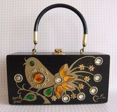 Enid Collins purse, vintage: