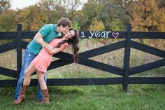 Capturing the love of a 1st year anniversary. Hailey Rahm Photography