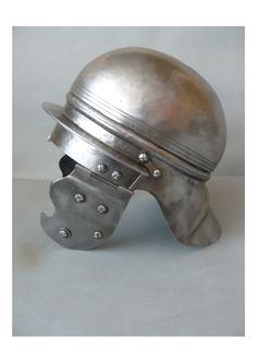 """Replica of the """"Eastern Celtic"""" type helmet from Siemiechowa (Poland). Late La Tène, century B. Iron Age, Ancient Rome, Ancient History, Celtic Clothing, Hallstatt, Celtic Warriors, Frank Morrison, Empire Strikes, Archaeological Finds"""