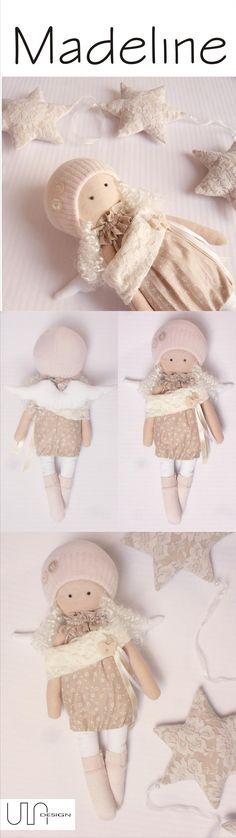 www.facebook.com/ula.design #angels #tilda #doll #wings #withangels #gift #handmade #sewing