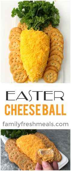 Easter Cheese Ball - Easy Easter Cheese Ball – Family Fresh Meals Best Picture For Easter Recipes Ideas diy crafts F - Easter Snacks, Easter Appetizers, Easter Brunch, Appetizers For Party, Appetizer Recipes, Easter Food, Party Desserts, Easter Treats, Easy Easter Desserts