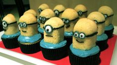Minion cupcakes from Jacqui.co