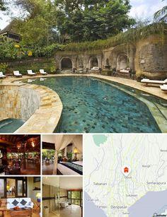 El hotel se encuentra a 5 minutos a pie de la principal zona comercial de Ubud y a unos 45 minutos en coche del aeropuerto de Ngurah Rai.