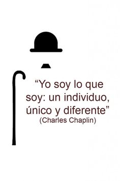 Quote│Citas - - - by ralphe Great Quotes, Me Quotes, Inspirational Quotes, Motivational Phrases, Charlie Chaplin, Positive Vibes, Positive Quotes, Deep Thinking, Spiritual Messages