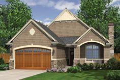 Craftsman 3 Beds 2 Baths 1275 Sq/Ft Plan #48-165 Front Elevation - Houseplans.com