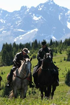The Chilko area of British Columbia is wild and isolated. On horse pack trips, travelers hike and ride horses by day into the wilderness.