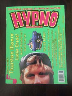 RARE HYPNO  MAGAZINE V4 #8 SONIC YOUTH PORTISHEAD ROLLER DERBY MUSIC POP CULTURE
