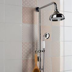 Décor mur gris granit n°5 brillant l.19.7 x L.19.7 cm, Astuce couronne Decoration, Respect, Home Decor, Inspiration, Products, Wall Tiles, Grey Feature Wall, Colour Gray, Future House