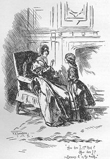 Chapter 8: Being publicly shamed, Jane find comfort in Helen. The girls visit with Mrs Temple who shares food with them and promises to clear Jane's name. She does so with help from Mr Lloyd from back home.