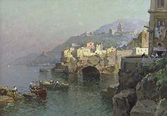 Nicolas De Corsi - Paesaggio costiero