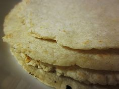 Homemade Corn Tortilla Tutorial. Not only are these gluten free, but they would be sooo good, in my enchiladas!