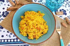 Risotto alla curcuma, scopri la ricetta: http://www.misya.info/ricetta/risotto-alla-curcuma.htm
