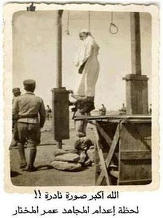 Omar al Mukhtar, hero of Libya ,was hanged on September 16,1931, at the age of 73 years old.