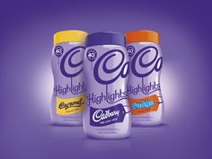 Cadbury Highlights range designed by Bulletproof