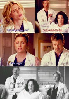 Grey's Anatomy Calzona scene