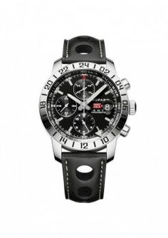 Unique strap on this Chopard men's watch | JR Dunn Jewelers | Men's Fashion