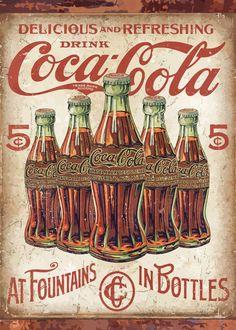 Coca Cola Poster, Coca Cola Ad, Always Coca Cola, Coca Cola Bottles, Pepsi, Coca Cola Drink, Coke Ad, Vintage Coca Cola, Vintage Posters