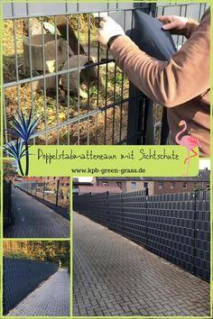 Diy Backyard Fence, Small Yard Landscaping, Landscaping Retaining Walls, Backyard Patio Designs, Modern Fence Design, Fountain Lights, Retail Facade, Easy Fence, Garden Screening