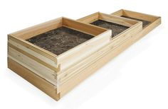 All Things Cedar 6ft. 3-Tiered Garden Box