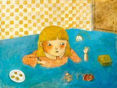 alessandra vitelli illustratrice: Alice nel paese delle meraviglie