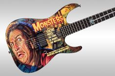 ESP Vincent Price Ltd Edition Guitar. If they come out with a Godzilla bass, it's a done deal.