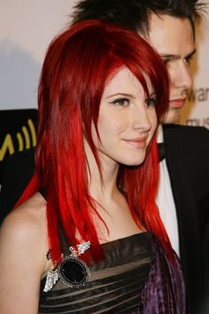Hayley Williams - Cherry red with bright red highlights