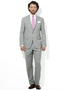 Polo Plain-Weave Suit - Suits   Men - RalphLauren.com