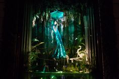 Bergdorf Goodman. Holiday 2016. Trees created by Twoseven.