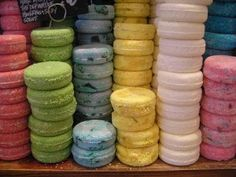 Lush shampoo bars are so amazing and great for travel.