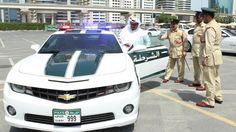 Dubai Lamborghini Police car
