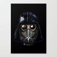 Star Darth lord Vader gas mask CANVAS PRINT #canvasprint #artdesign #digitalart #digital #graphicdesign #drawing #ink #pen #colored #pencil #painting #digital #watercolor #ink #3d #comic #illustration #starlord #guardiansofthegalaxy #darthvader #darthmaul #theforce #thesith #jedi #hansolo #r2d2 #yoda