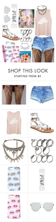 """""""P i n k"""" by tropical-vegas-finest ❤ liked on Polyvore featuring Circus by Sam Edelman, Radà and Victoria's Secret"""