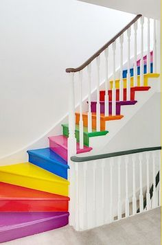 Painted Stair Ideas — A Cultivated Nest