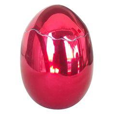 "Jeff Koons ""Cracked Egg (Red)""Sculpture BCAM BORN 2/9/08"